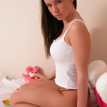 Cute getting down on all fours nonnude teen