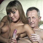 Horny young bombshell gets bent over and her coochie drilled from behind